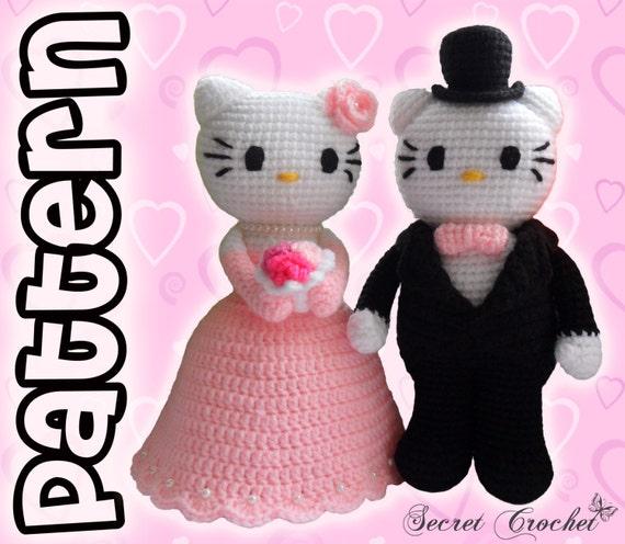 Amigurumi Kitty Patron : Amigurumi Crochet Patron: Kitty novios por SecretCrochet ...