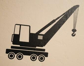 Crane - Wall Decal