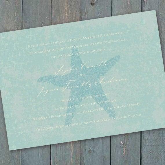 wedding invitations, coastal wedding invitations, beach wedding invitations, beach bridal shower invitations, bachelorette party, IN199
