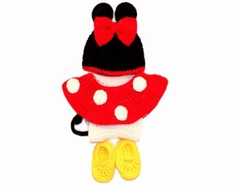 Mini Mouse Inspired Baby Costume