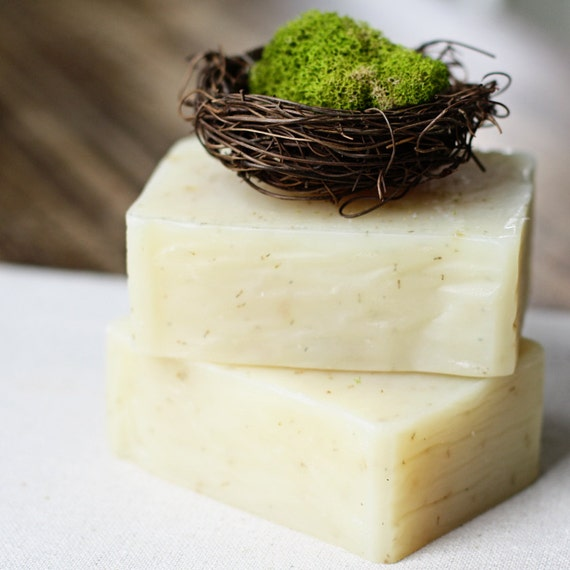 Indian Sandalwood Soap -  Handmade Soap - Cold Process Soap - Vegan Bar Soap - Natural Soap - Bar Soap