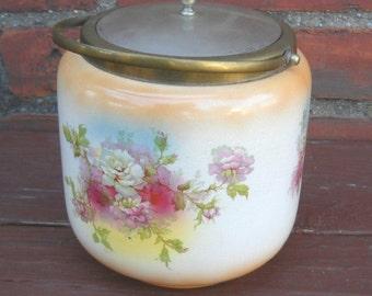 Victorian Era Peek Frean & Co. Cracker Jar