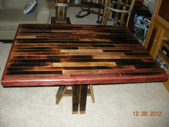 Wine Barrel Dining Table By FALLENOAKDESIGNS On Etsy