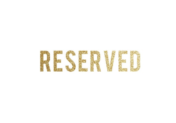 RESERVED LISTING FOR polloloco858