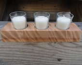 Satine Votive Candle Holder With Candles