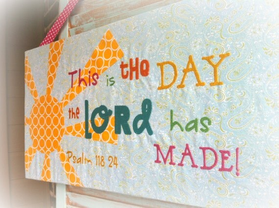 Items similar to children 39 s scripture wall art on etsy for Church mural ideas