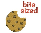 cookie tester/smart cookie/bite sized (3 designs) machine embroidery design Instant Download