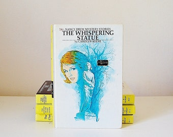 Nancy Drew Book The Whispering Statue Vintage 1960's Mystery No. 14