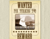 WANTED poster, Vintage Cowgirl WANTED party sign, WANTED Cowboy sign - Printable