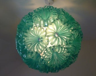Cola 30 - Plastic Bottle Ceiling Light