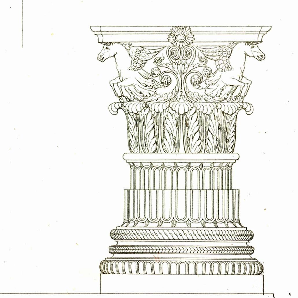 Corinthian Order Drawing