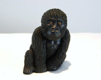Baby Gorilla Sculpture, Ornament