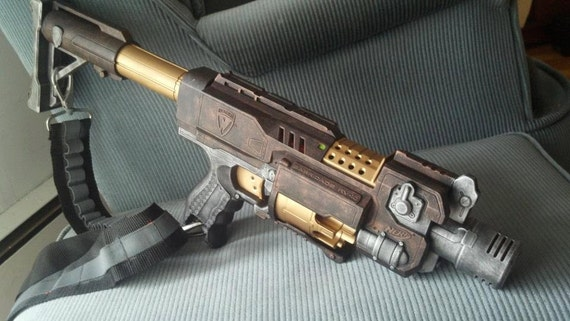 Nerf Steampunk Barricade with Stock