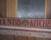 Country Kitchen Sign