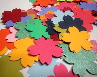 Sakura Confetti, Cherry Blossoms Die Cut, Sakura Embellishment, Sakura Table Scatter, Cherry Blossom Flower, Cherry Blossoms Sakura Cut Outs