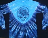 SALE - Grateful Dead tie-dyed Furthur bus LONG SLEEVE lyric tee shirt - Grateful Dead, Jerry Garcia, hippie, Kesey, lsd