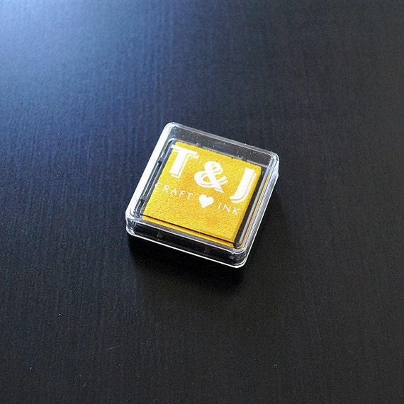 Yellow Acid Free Pigment Ink Cube