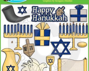Hanukkah Clip Art Download
