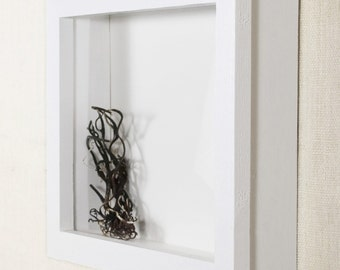 Shadow Box Frame 18x24 - DEEP Shadow Box, Display Case, Picture Frame, Display Frame - White