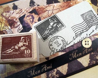 Goya Stamp Rubber Stamp