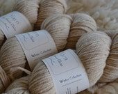 Naturally Dyed Heavy Worsted Weight Farm Yarn / Comfort Me Cormo : Coffee