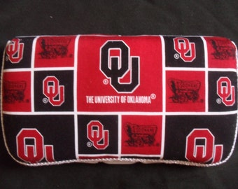 University of Oklahoma Sooners Baby Wipes Case