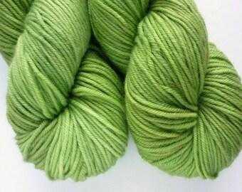 Hand Dyed DK Yarn - Superwash Merino Wool Yarn in Orion Colorway