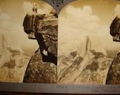 ViNtAgE 1920s YosemiTe VaLLeY Glacier PoiNT CaLifornia