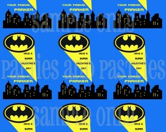 Batman Valentineu0027s Day Classroom Cards 3 Styles To Choose From