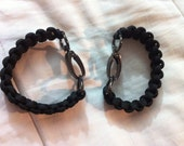 BDSM/ S&M Paracord handcuffs- custom fit and color