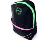 Bodacious 90s Tri-Neon Accented Sundance Backpack