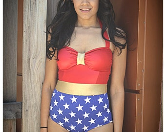 Wonder women swimsuit