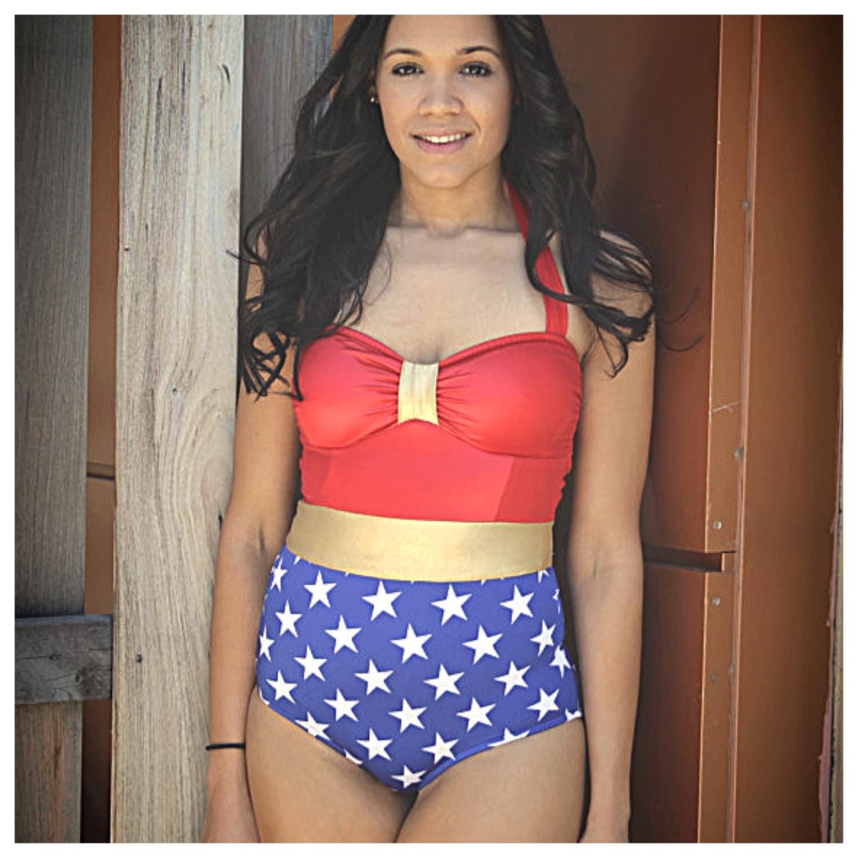 wonder women swimsuit