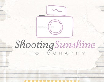 Unique photography logo and watermark photography branding