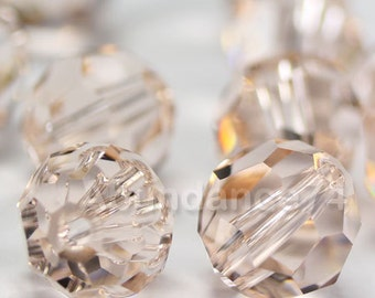 Swarovski Elements Crystal Beads 5000 Round Ball Beads SILK - Available in 6mm and 8mm