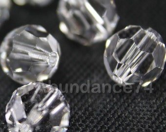 Swarovski Elements Crystal Beads 5000 Round Ball Beads CLEAR - Available in 5mm and 7mm