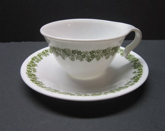 Corelle Cups and Saucers Spring Blossom