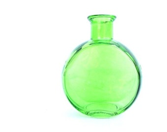 Neon Glass Vase Modern Green Glassware