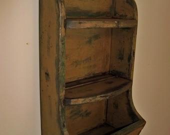 Folk Art Shelf - Primitive Finish