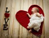 Be My Valentine Heart Photo Prop