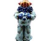 vintage collectibles, vintage clown, vintage clown figurine