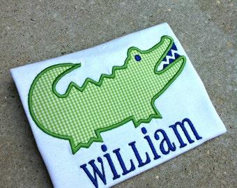 Alligator Shirt - You Customize