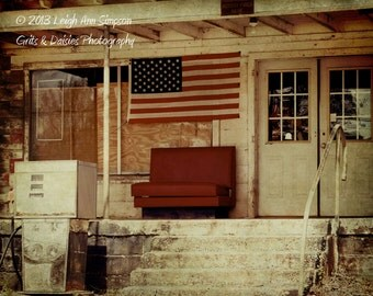 Ain't that America - 8x10 Fine Art Photograph - Rural - Southern Photography
