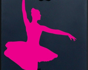 Ballerina Iphone Vinyl Decal