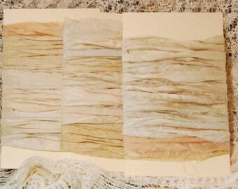 Sari Silk Ribbon - Cream