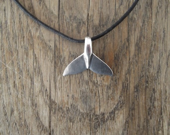 Sterling Silver Whale Pendant