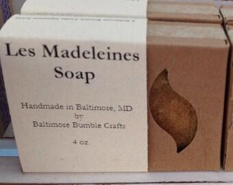 Les Madeleines Soap (Honey, Orange & Oatmeal) - HOLIDAY SALE PRICE