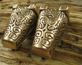 bear or boar headed brooch V2- viking era. set of 2