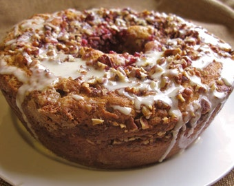 Crazy Good Cranberry Cake