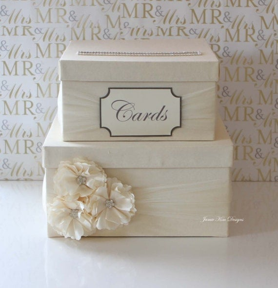 Wedding Card Box, Money Box, Custom Card Box - Custom Made to Order